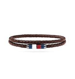 Tommy Hilfiger Tommy Hilfiger TJ2790055 armband bruin double wrap