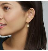 Cluse CLJ51020 oorbellen Force Tropicale goud