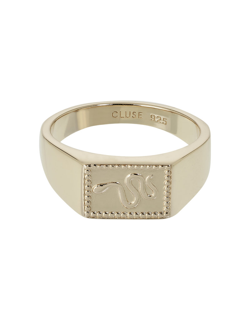 Cluse CLJ41012-52 ring Force Tropicale goud