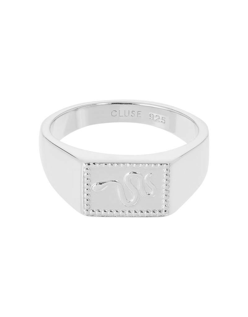 Cluse CLJ42012-52 Ring Force Tropicale zilver