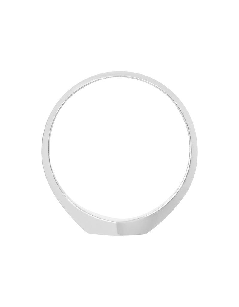 Cluse CLJ42011-56 ring Essentielle Hexagon zilver