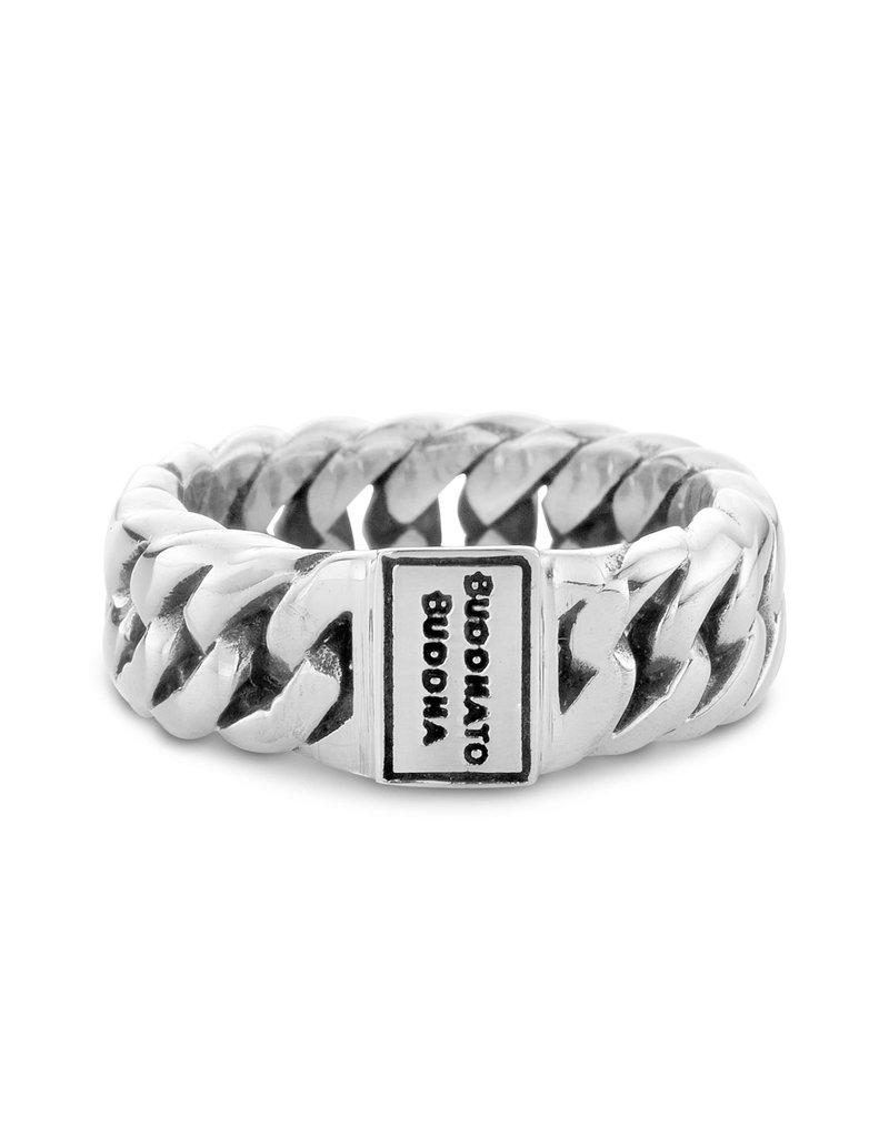 Buddha to Buddha Buddha to Buddha -541 Chain Small Ring - Maat 16.00 mm (50)