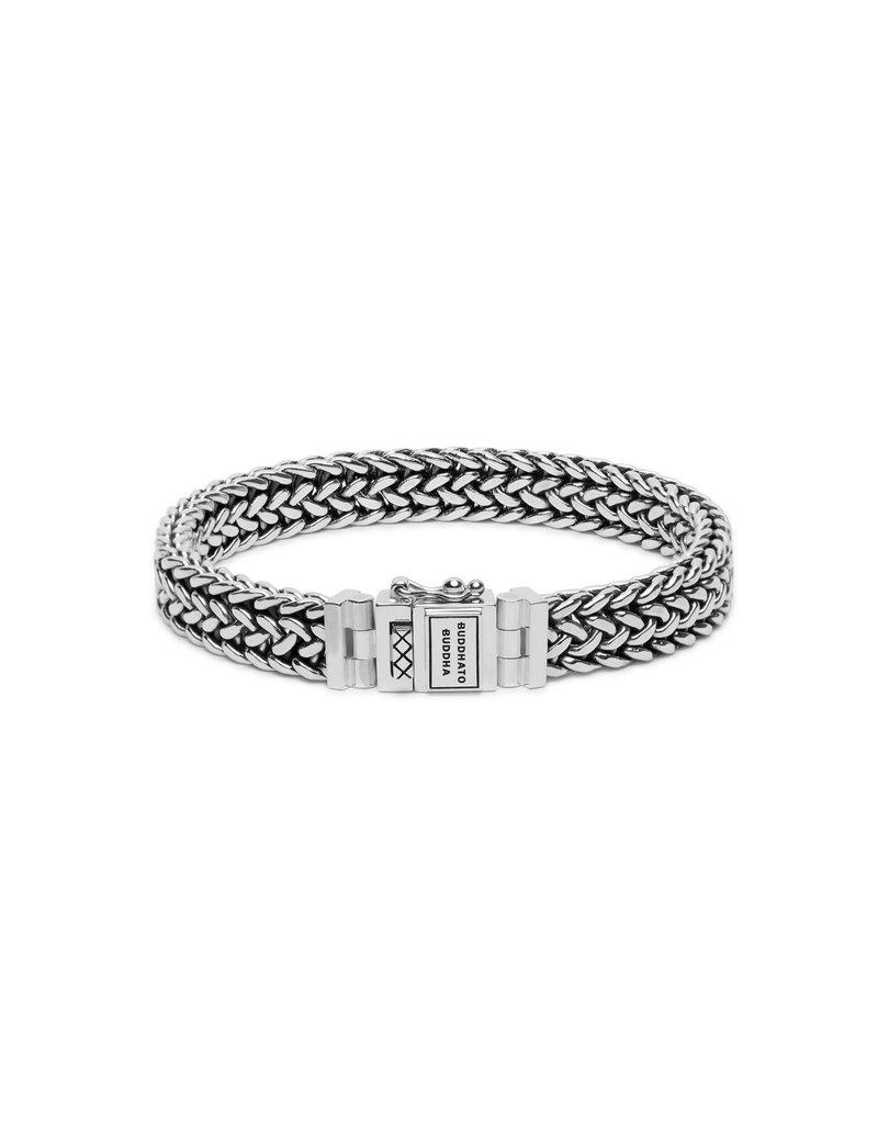 Buddha to Buddha Buddha to Buddha 192 Armband zilver Julius - Maat E - 19cm