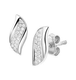 Blinckers Jewelry Huiscollectie 13.27304 Oorbellen Zilver met Zirkonia