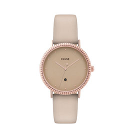 Cluse Cluse CL63006 horloge Le Couronnement Rose Gold/Gold Dust