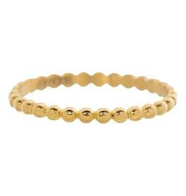 iXXXi iXXXi R02802-01 20 Ring Bolletjes goud kleurig