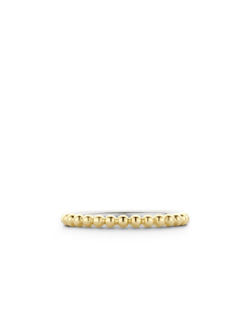 Ti Sento Milano Ti Sento Ring 1937SY - Maat 17.25 mm (54) - Zilver geelgoudverguld
