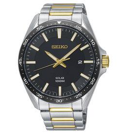Seiko Seiko SNE485P1 Horloge Solar Bicolour