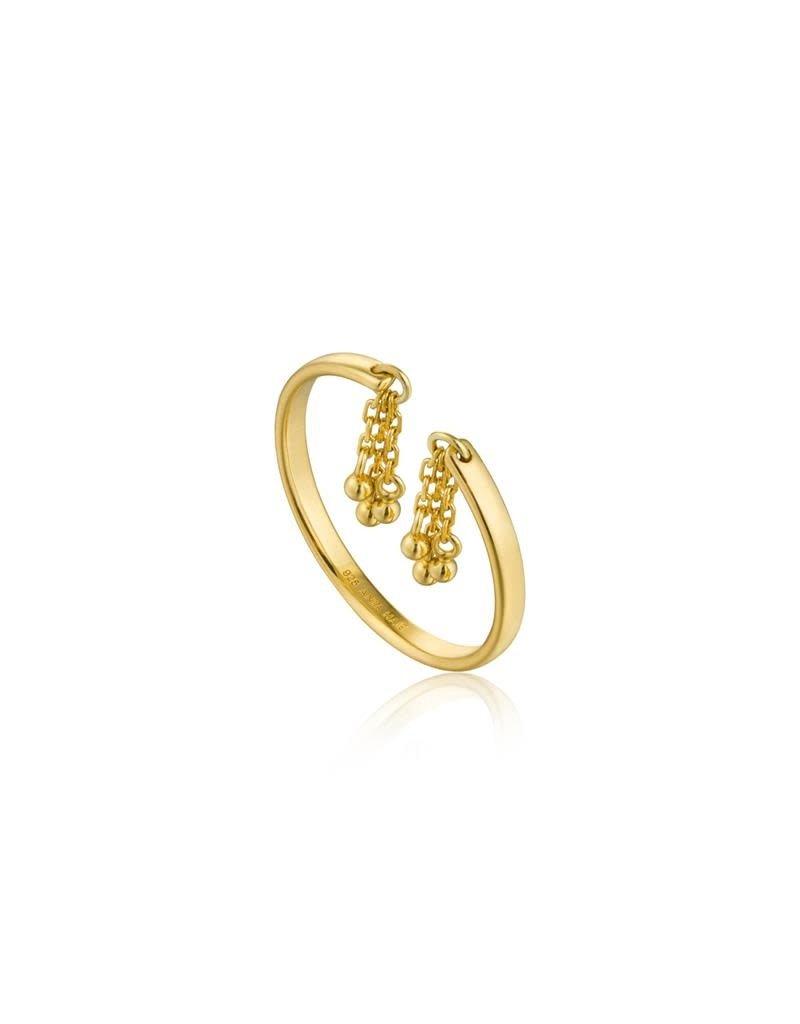 ANIA HAIE JEWELRY AH R013-02G Ring Fringing Tassel Drop Gold