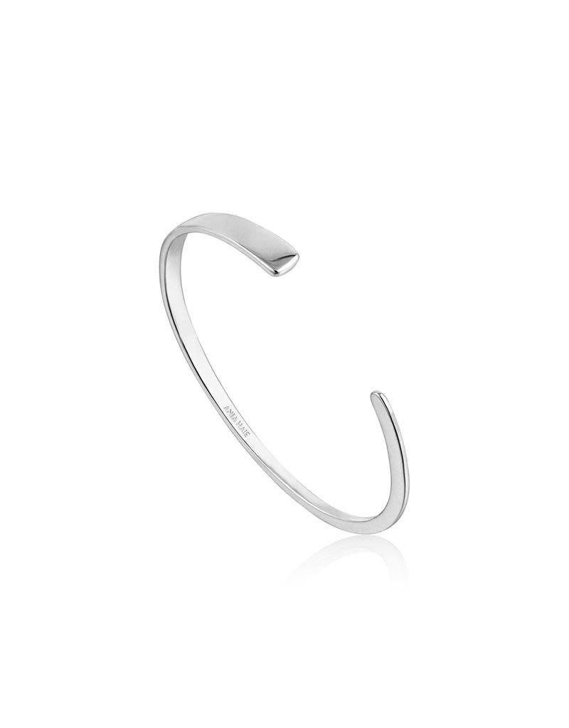 ANIA HAIE JEWELRY AH B005-01H Armband Zilver Geometry Class Bangle