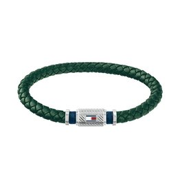 Tommy Hilfiger TH TJ2790084 Armband Leather SS/Green