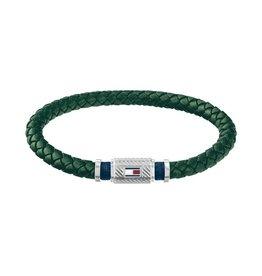 Tommy Hilfiger Tommy Hilfiger TH TJ2790084 Armband Leather SS/Green