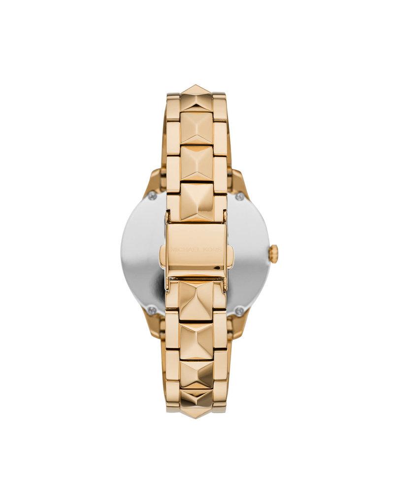 Michael Kors Michael Kors MK6670 Horloge Dames Goud Turquoise