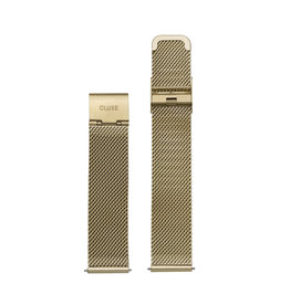 Cluse Cluse CS1401101029 Mesh Band Goud kleurig 16MM