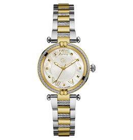 GC GC Y18020L1MF Dames Horloge Sport Chique Bicolor