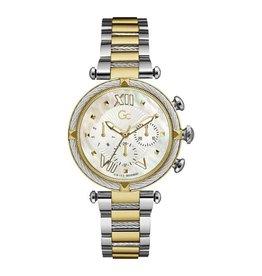 GC GC Y16020L1MF Dames Horloge Sport Chique Bicolor