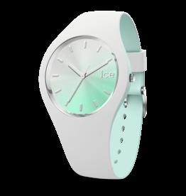 Ice Watch Ice Watch IW016984 Horloge Ice Duo Chic White Aqua Medium