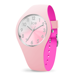 Ice Watch Ice Watch IW016979 Horloge Ice Duo Chic Pink Silver Small