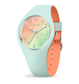 Ice Watch Ice Watch IW016981 Horloge Ice Duo Chic Aqua Coral Small