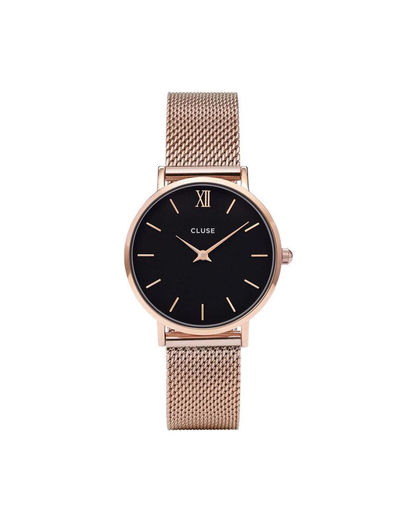 Cluse Cluse CW0101203003 Horloge Minuit Mesh Rosé