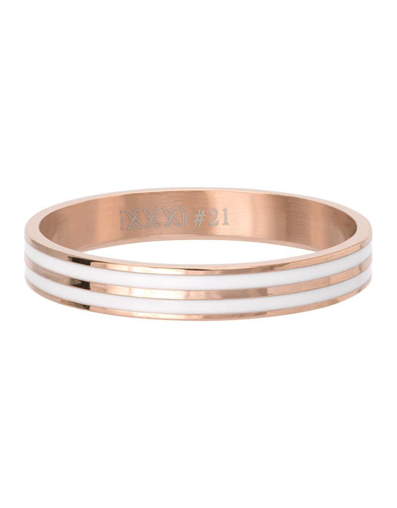 iXXXi iXXXi R05301-02 19 Ring Double Line white