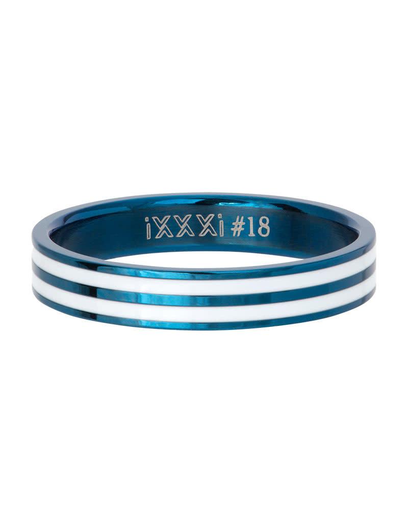iXXXi iXXXi R05301-08 21 Ring Double Line white