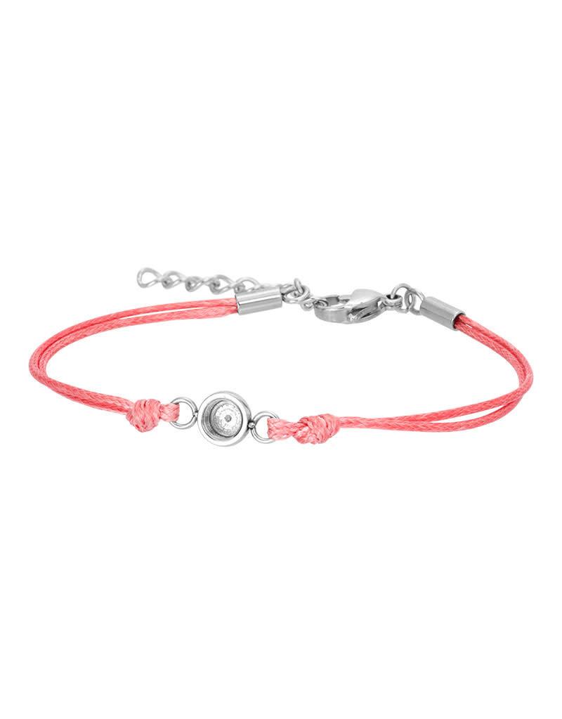 iXXXi iXXXi B00313-03 Wax Cord Base Pink