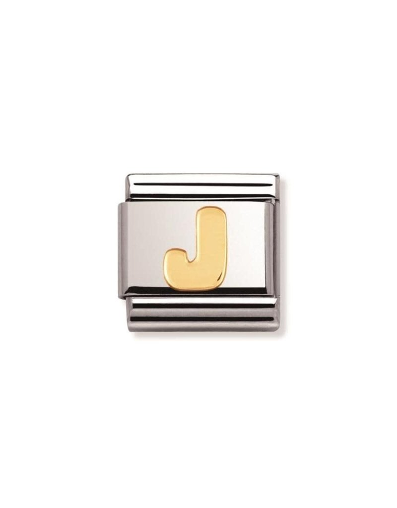 Nomination Composable 030101-10 Nomination Classic letter J