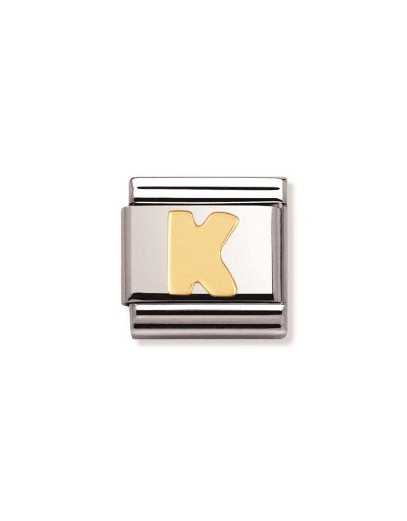 Nomination Composable 030101-11 K Nomination Classic letter K
