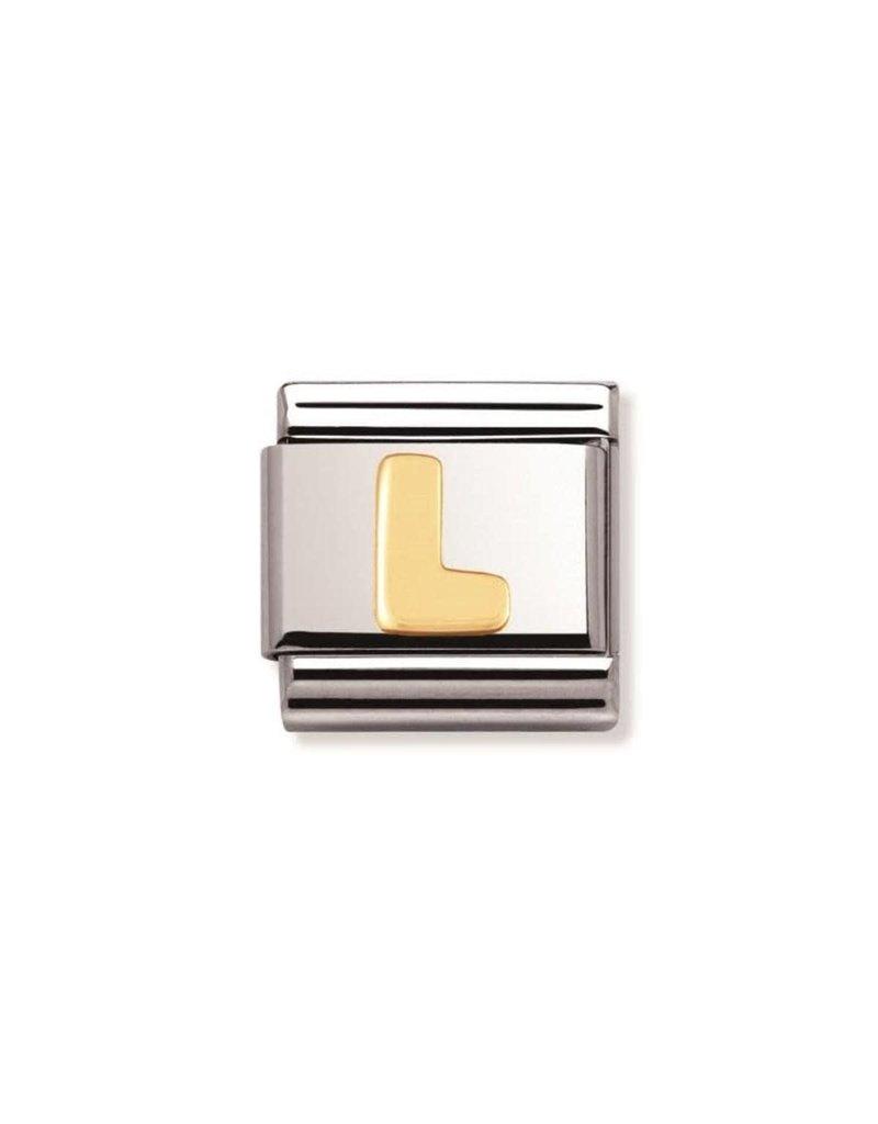 Nomination Composable 030101-12 Nomination Classic letter L