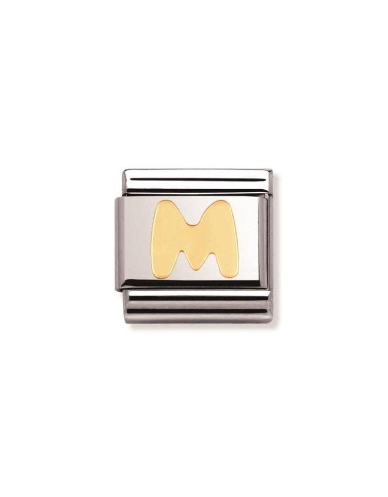 Nomination Composable 030101-13 Nomination Classic Letter M