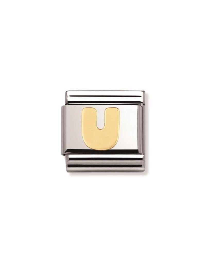 Nomination Composable 030101-21 Nomination Classic letter U