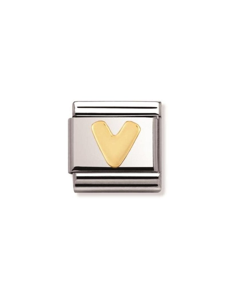 Nomination Composable 030101-22 Nomination Classic letter V