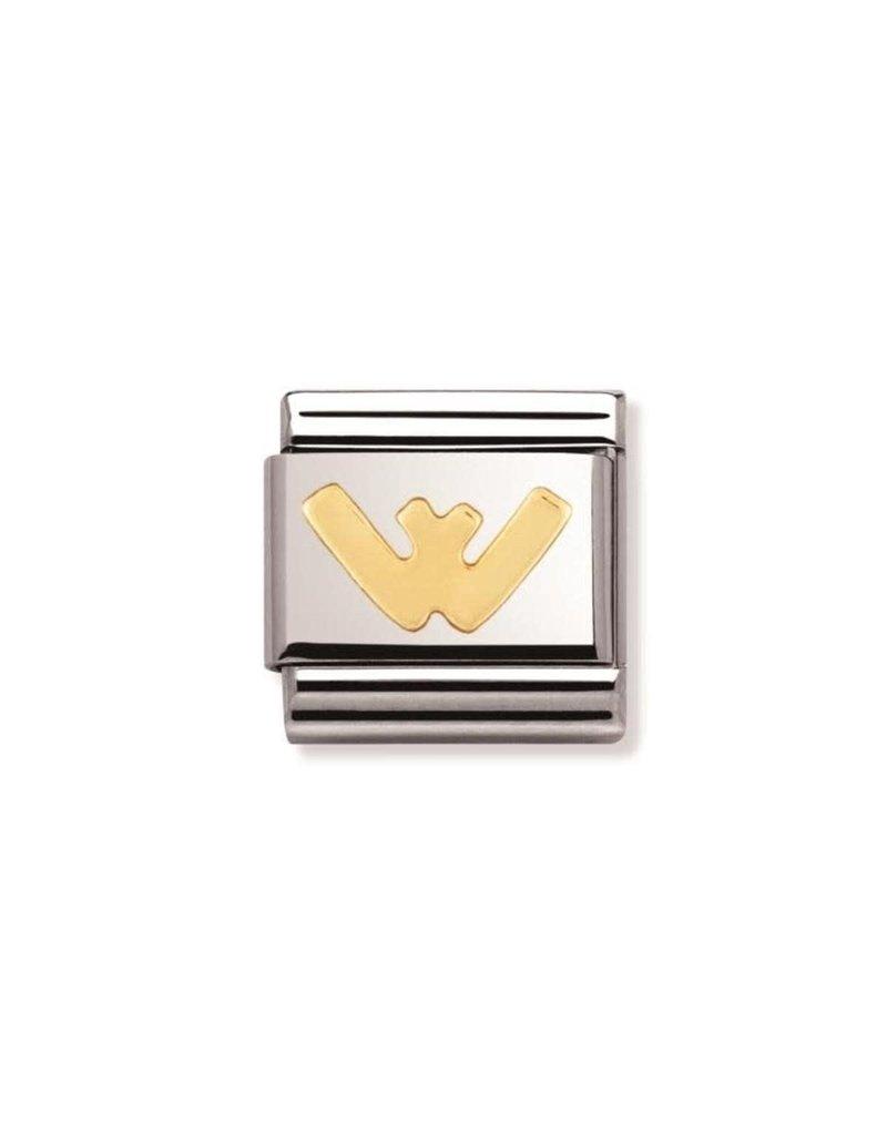 Nomination Composable 030101-23 Nomination Classic letter W