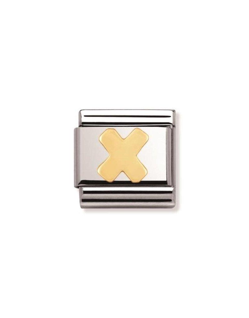 Nomination Composable 030101-24 Nomination Classic letter X