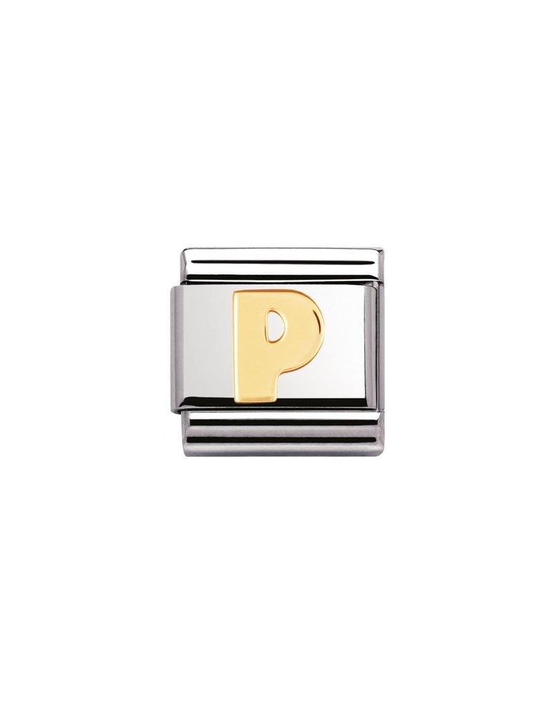 Nomination Composable 030101-16 Nomination Classic letter P