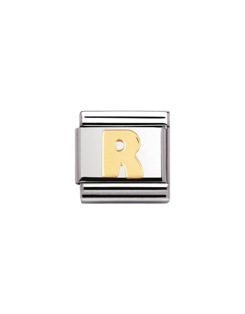 Nomination Composable 030101-18 Nomination Classic letter R