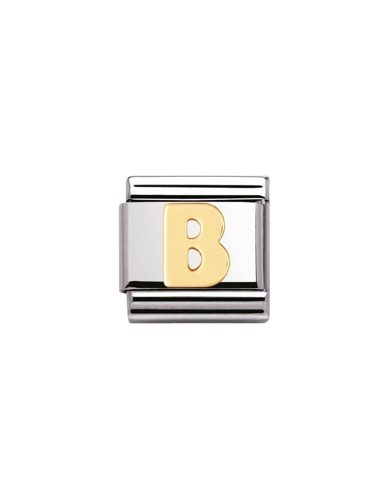 Nomination Composable 030101-02 Nomination Classic letter B