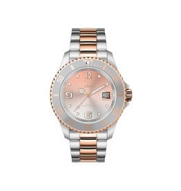 Ice Watch Ice Watch IW016769 Horloge Ice Steel Silver Sunset Rose-Gold