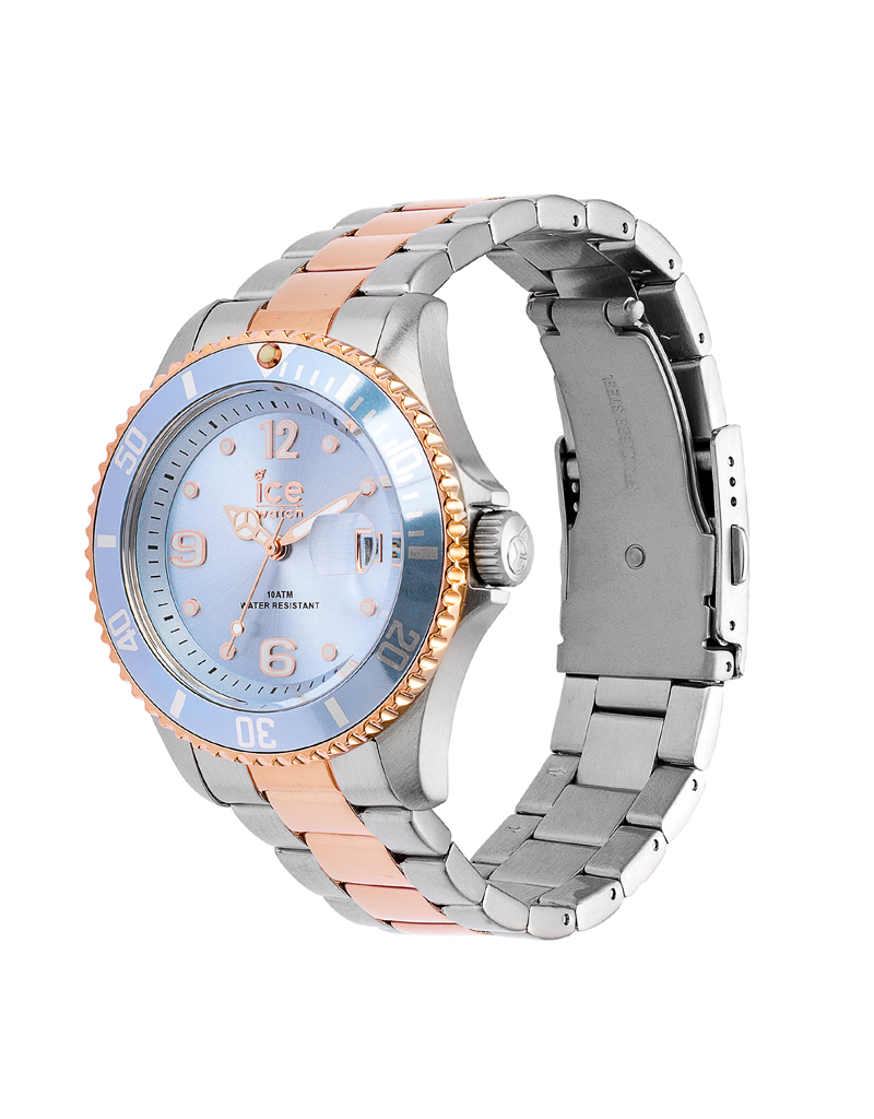 Ice Watch Ice Watch IW016770 Horloge Ice Steel Sky Silver Rose
