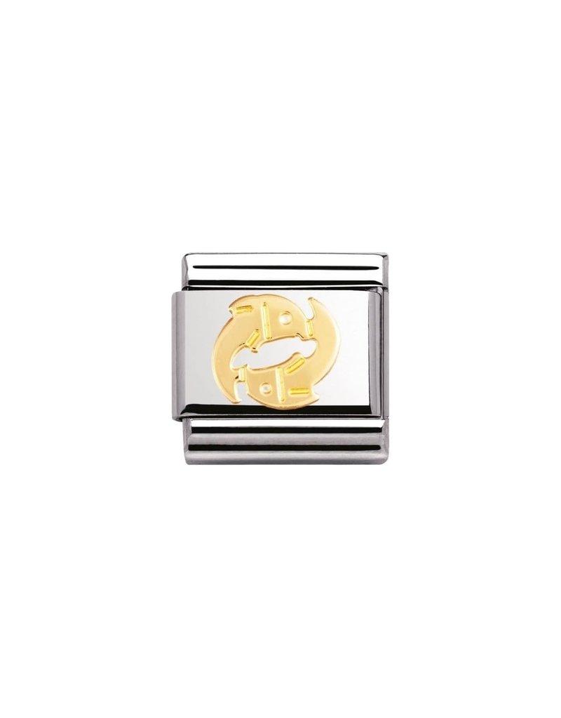Nomination Composable 030104-12 Nomination Classic horoscoop Vissen