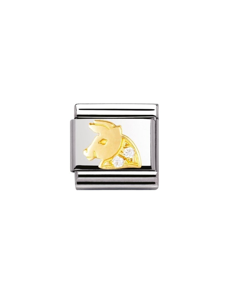 Nomination Composable 030302-02 Nomination Classic horoscoop stier met zircoinia