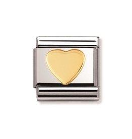 Nomination Composable 030116-02 Nomination Classic hart goud