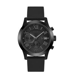 Guess Guess W1055G1 Horloge Heren Zwart Chrono