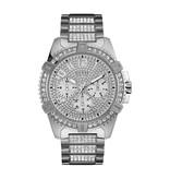Guess Guess W0799G1 Horloge Heren Staal met Zirkonia