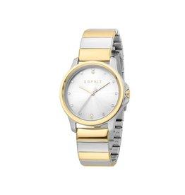 Esprit Esprit ES1L142M0075 Horloge Dames staal Bicolor