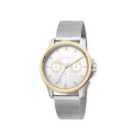Esprit Esprit ES1L145M0105 Horloge Dames Staal/Goud Mesh