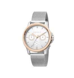 Esprit Esprit ES1L145M0115 Horloge Dames Staal/Rosé Goud Mesh