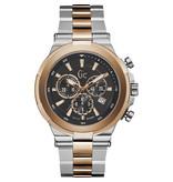 GC GC Y23003G2 Horloge Sport Chic Staal/Rosé Chrono