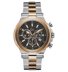 GC GC Y23003G2 Horloge Sport Chic Staal/Rosé Chrono
